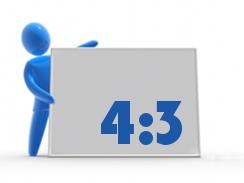 4:3 Digitales Format